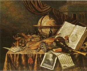 Vanitas still life, 1662