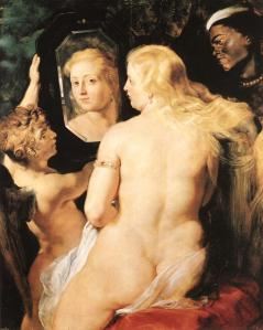 """Venus at a mirror"", by Rubens (1577-1640)."