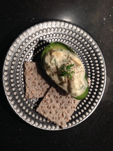 Also try egg salad with avocado and (spelt) krackebröt