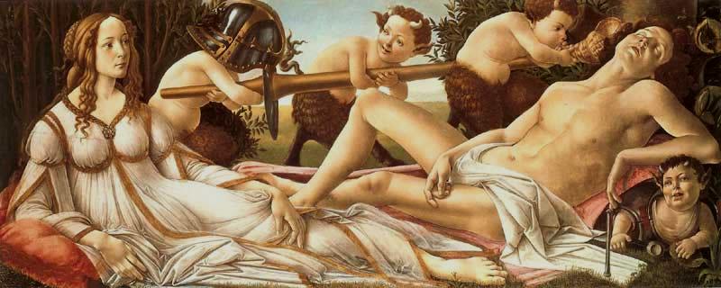 Botticelli's Venus and Mars